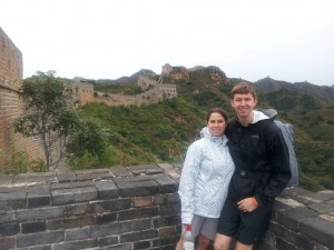 Us on the Great Wall