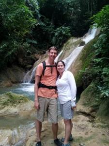 Waterfalls at Tad Thong