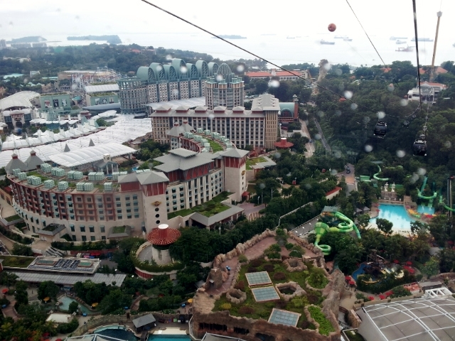 Singapore part 3 sentosa bay chinatown raffles hotel for Tallest hotel in singapore