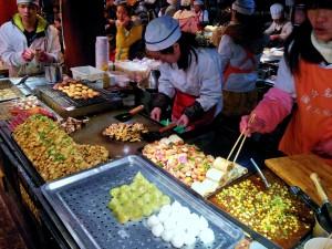 Lijiang Old Town hawker market