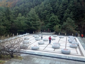 World's largest Chinese chess board