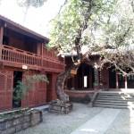 Restored temple