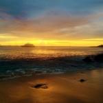 Playa Mann at sunset