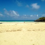 Puerto Chino - beautiful beach, but too many horse-flies!