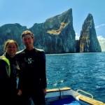 SCUBA diving at Kicker Rock