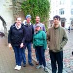 Meeting US friends in Estonia