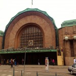 """You could definitely feel the """"Soviet-ness"""" of Helsinki, like here at the train station"""