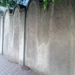 Walls to the Jewish ghetto