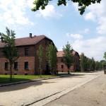 Prisoner housing at Auschwitz