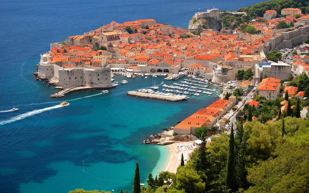 Croatia looks beautiful! Photo courtesy of Mr. Wallpaper