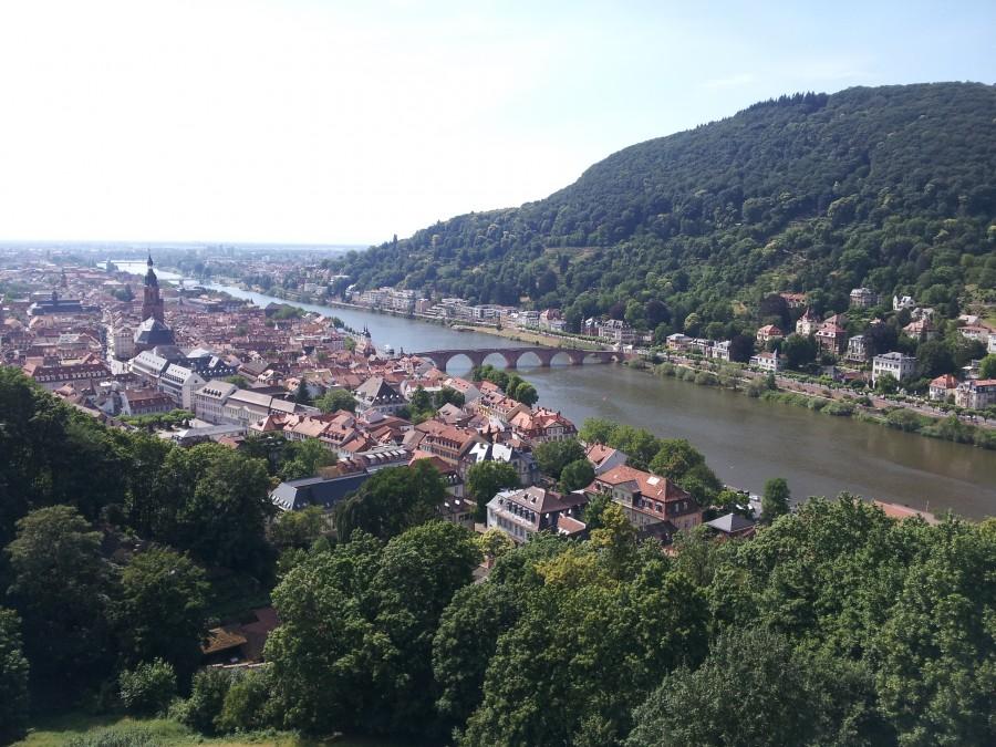 Heidelberg from the castle