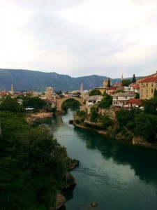 Mostar old town and bridge