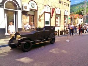 Replica of the Archduke's car