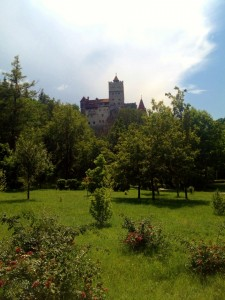 There it is - Dracula's Castle