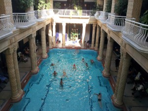 Beautiful interiors of the Kellert baths