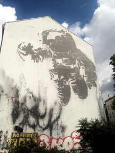Impressive street art throughout Berlin