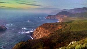 Beautiful coastline on CA Hwy 1